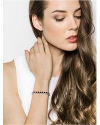 BaubleBar - Onyx Spike Pull Bracelet-black/hematite - Lyst