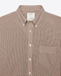 Billy Reid | Brown Holt Shirt for Men | Lyst