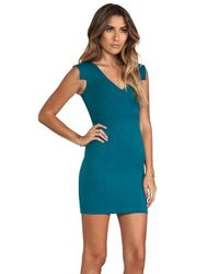 Black Halo - Diane Mini in Green - Lyst