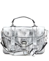 Proenza Schouler | Ps1 Tiny Metallic Leather Shoulder Bag | Lyst