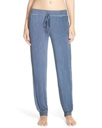 Daniel Buchler - Blue Washed Out Lounge Pants - Lyst