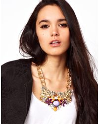 ASOS - Multicolor Pretty Tough Necklace - Lyst