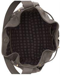 Vince Camuto - Gray Arora Drawstring Bag - Lyst
