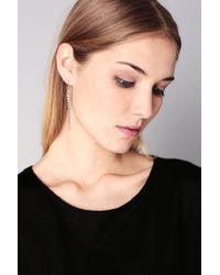 Pieces - Metallic Earrings - Lyst
