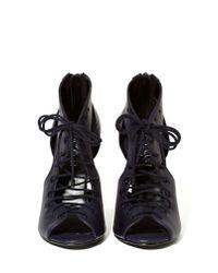 Nasty Gal - Black Shoe Cult Of Corset Heels - Lyst