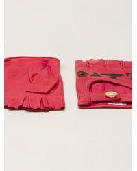 Vivienne Westwood - Red 'Love/Hate' Gloves - Lyst