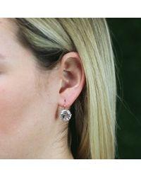 Andrea Fohrman - Pink 12mm Rock Crystal Drop Earrings - Lyst