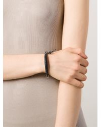 Vivienne Westwood | Black 'ryan' Bangle | Lyst
