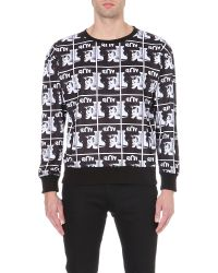 BOY London | Black Mens Repeat Logo Sweat for Men | Lyst