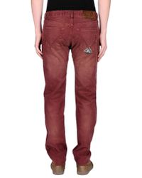 Roy Rogers - Red Casual Trouser for Men - Lyst