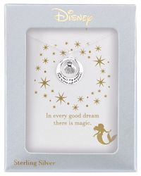 Disney - Green The Little Mermaid Dreams Shell Pendant Necklace In Sterling Silver - Lyst