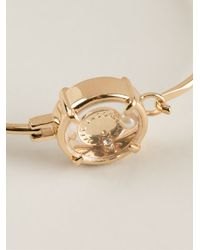 Marc By Marc Jacobs - Metallic Logo in Circle Bracelet - Lyst
