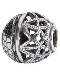 Trollbeads | Metallic Sterling Silver Spirtual Ornament Charm | Lyst