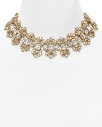 kate spade new york | Metallic Glass Arches Necklace, 14"