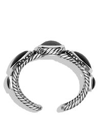 David Yurman - Metallic Grisaille Cuff With Hematine, Crystal, And Diamonds - Lyst