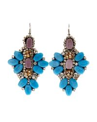 G-Lish | Blue  Lavender Earrings | Lyst