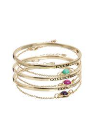 ASOS | Multicolor Mood Stone Bracelet Multipack | Lyst