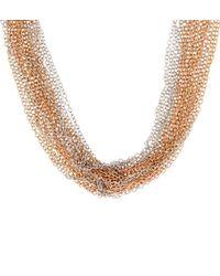 Hobbs | Metallic Aida Necklace | Lyst