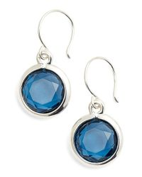 Anne Klein | Metallic Drop Earrings | Lyst