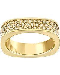 Swarovski - Metallic Vio Ring - Lyst