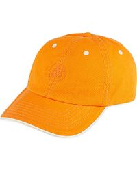 Vilebrequin | Orange Baseball Cap for Men | Lyst