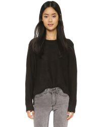 Cheap Monday | Black Save Sweater - Mist Grey | Lyst