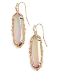 Kendra Scott | Pink 'mystic Bazaar - Fran' Drop Earrings | Lyst