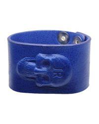John Richmond - Blue Bracelet - Lyst