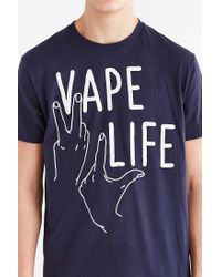 Urban Outfitters - Blue Broad City Vape Life Tee for Men - Lyst