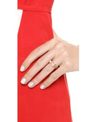 Vita Fede - Metallic Ultra Mini Ring - Lyst