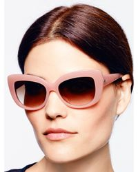 Kate Spade | Pink Ursula Sunglasses | Lyst