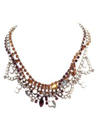 Tom Binns | Metallic Faux Melee Necklace | Lyst