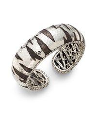 John Hardy | Metallic Palu Macan Sterling Silver Kick Cuff Bracelet | Lyst