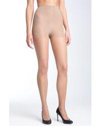 Pantyhose sheer black donna karan