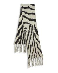 Genie by Eugenia Kim - Natural Linley Zebra-Patterned Scarf - Lyst