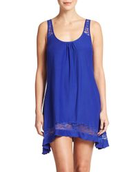 In Bloom - Blue Crossback Chemise - Lyst