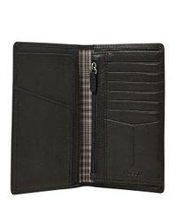 Fossil | Black Ingram Executive Leather Wallet for Men | Lyst