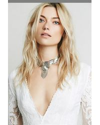 Free People | Metallic Womens Talia Collar | Lyst