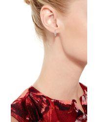 Joelle Jewellery | 18K Pink Gold Antique Hoop Earrings | Lyst