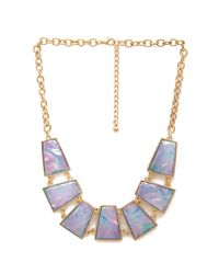 Forever 21 - Purple How Holographic Necklace - Lyst