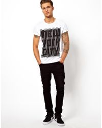 ASOS - White Tshirt with Graphic New York City Print for Men - Lyst