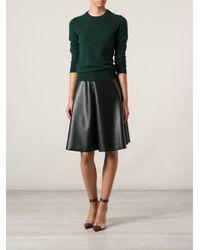 Dolce & Gabbana - Green Round Neck Sweater - Lyst