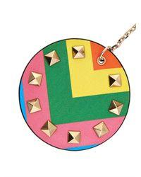Valentino - Multicolor 1973 Rainbow Rockstud Key Ring - Lyst