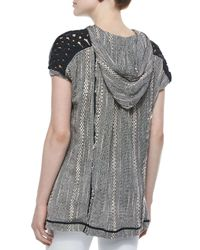 Free People - Black Forever Yours Woven Tunic - Lyst