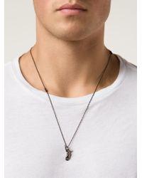 Lanvin - Metallic Hermes Foot Necklace for Men - Lyst