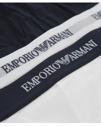 Emporio Armani - Multicolor Two Pack Of Boxer Shorts for Men - Lyst