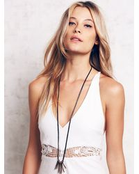 Free People - Metallic Aq For Fp By Artemas Quibble Womens Aq Quiver Pendant - Lyst