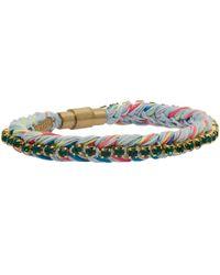 Venessa Arizaga | Green Rainbow Family Bracelet | Lyst