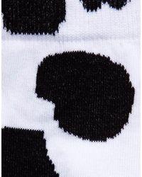 ASOS - Black Socks with Cow Design for Men - Lyst