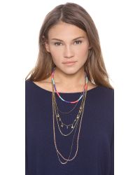 Venessa Arizaga | Multicolor Malibu Necklace | Lyst